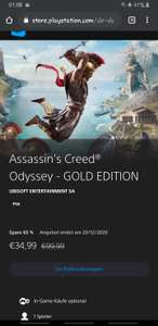 Assassin's Creed® Odyssey - GOLD EDITION für PS4