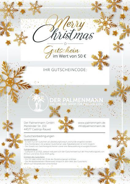 Palmenmann Gutschein 50€ für 35€