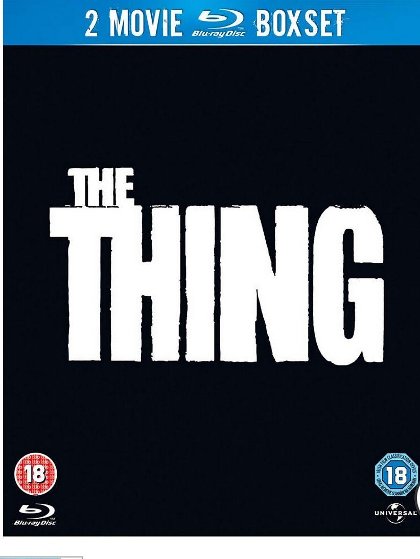 """""""The Thing"""" BluRay(1982 und 2011) 2Movie Boxset 5,99€+1,49€ Versand"""