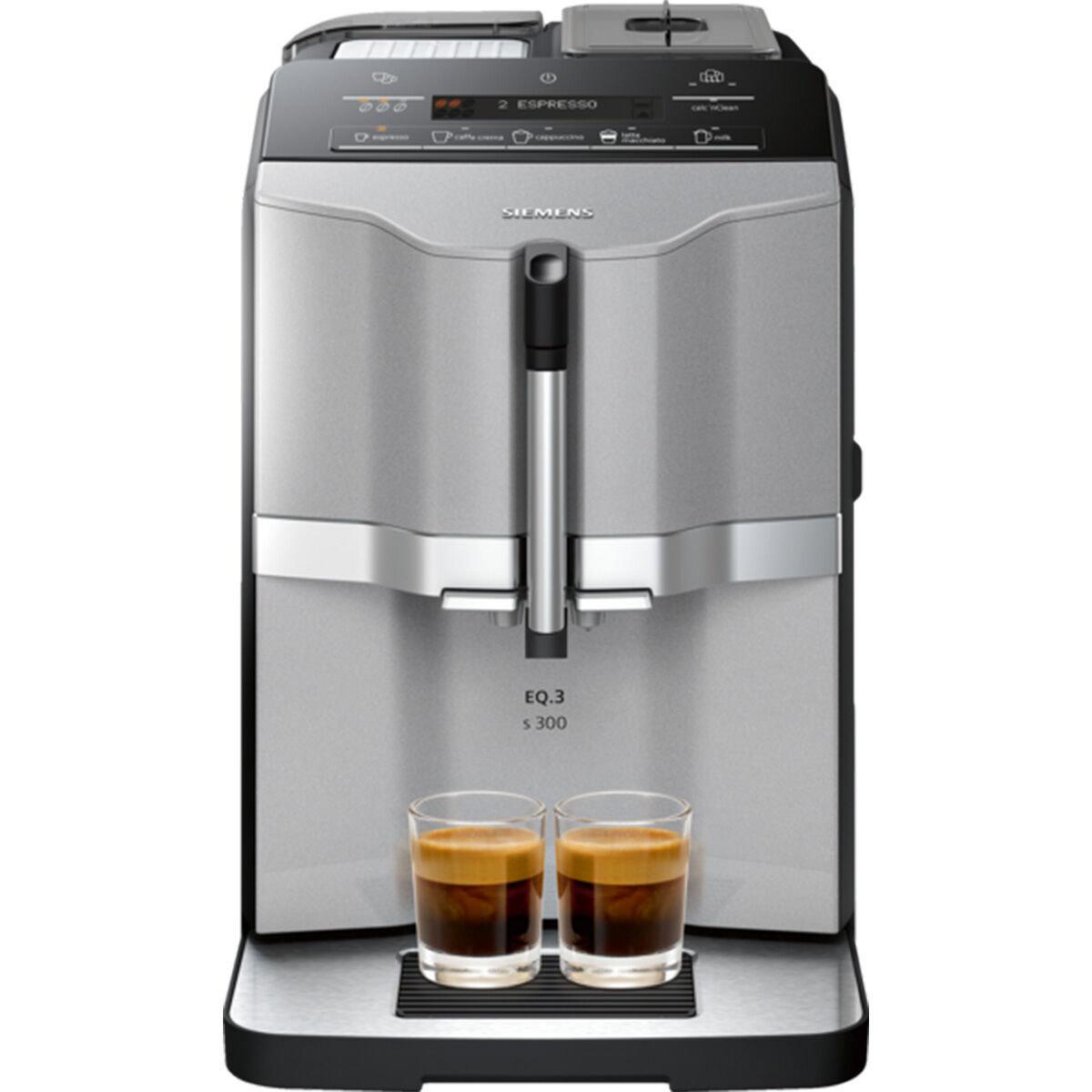 Mit Kundenkarte - Siemens Kaffeevollautomat EQ.3 s300 TI303503DE