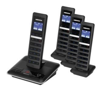 Schnurloses Telefon mit 4 Mobilteilen - für 59,95 inkl, Versand