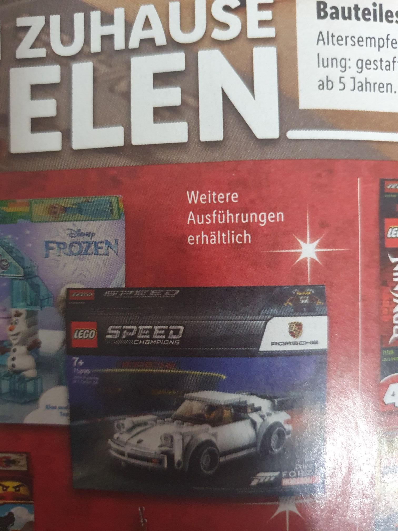 Lego Speed Champions Porsche - Lidl Filialen