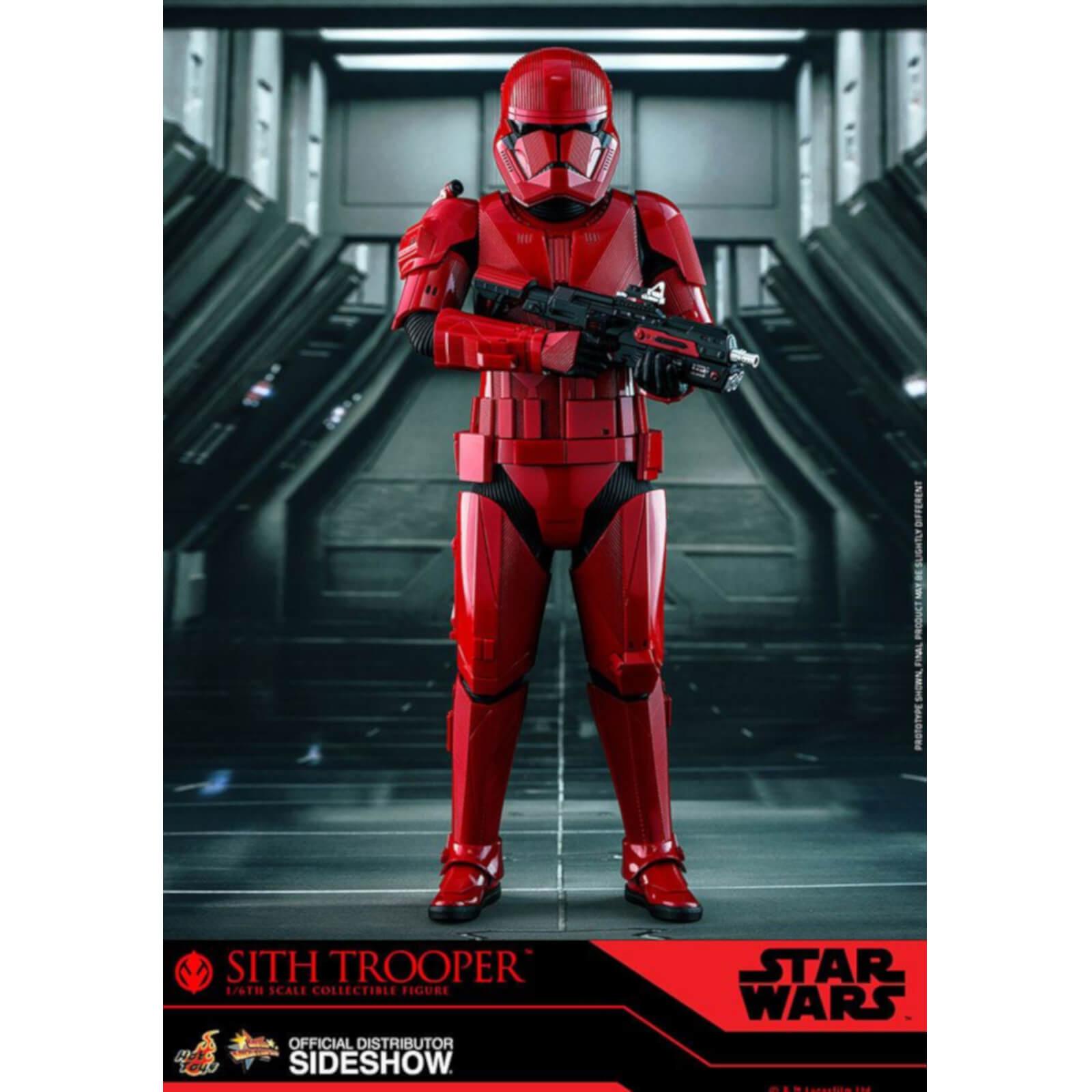 Hot Toys Star Wars Episode IX Movie Masterpiece Action Figur 1/6 Sith Trooper 31cm