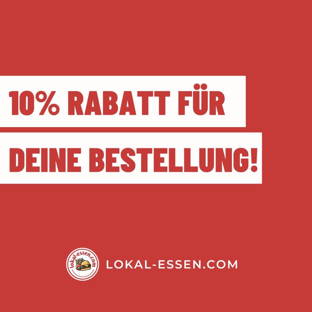 10% Rabatt auf die nächste Essensbestellung über Lokal-Essen.com [OBERHAUSEN]