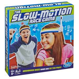 The Slow Motion Race Game [Hasbro]