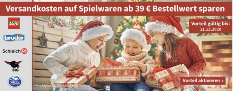 Völkner: Versandkosten ab 39€ auf Spielwaren geschenkt