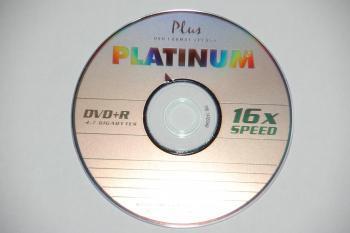 100 Platinum DVD+R Rohlinge 4,7GB 16 x für nur 19,99 EUR inkl. Versand!