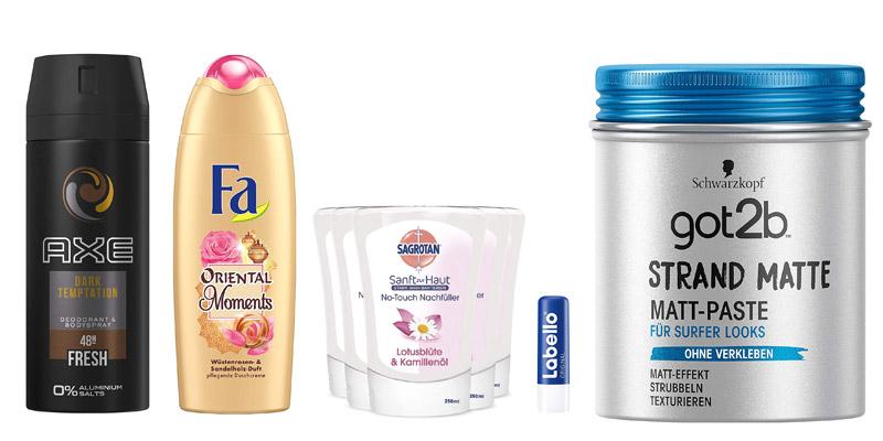 Amazon Aktion Beauty Angebot: Nimm 4, zahl 3, z.B. Bruno Banani, Sagrotan, Fa, CD, L'Oréal, Nivea, Dove, Kneipp, Axe, Adidas, L'Oreal