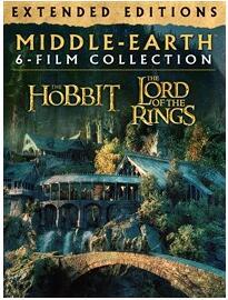 [Microsoft.com] Mittelerde Collection - Hobbit / Herr der Ringe Trilogie - 4K digitale Filme - nur OV