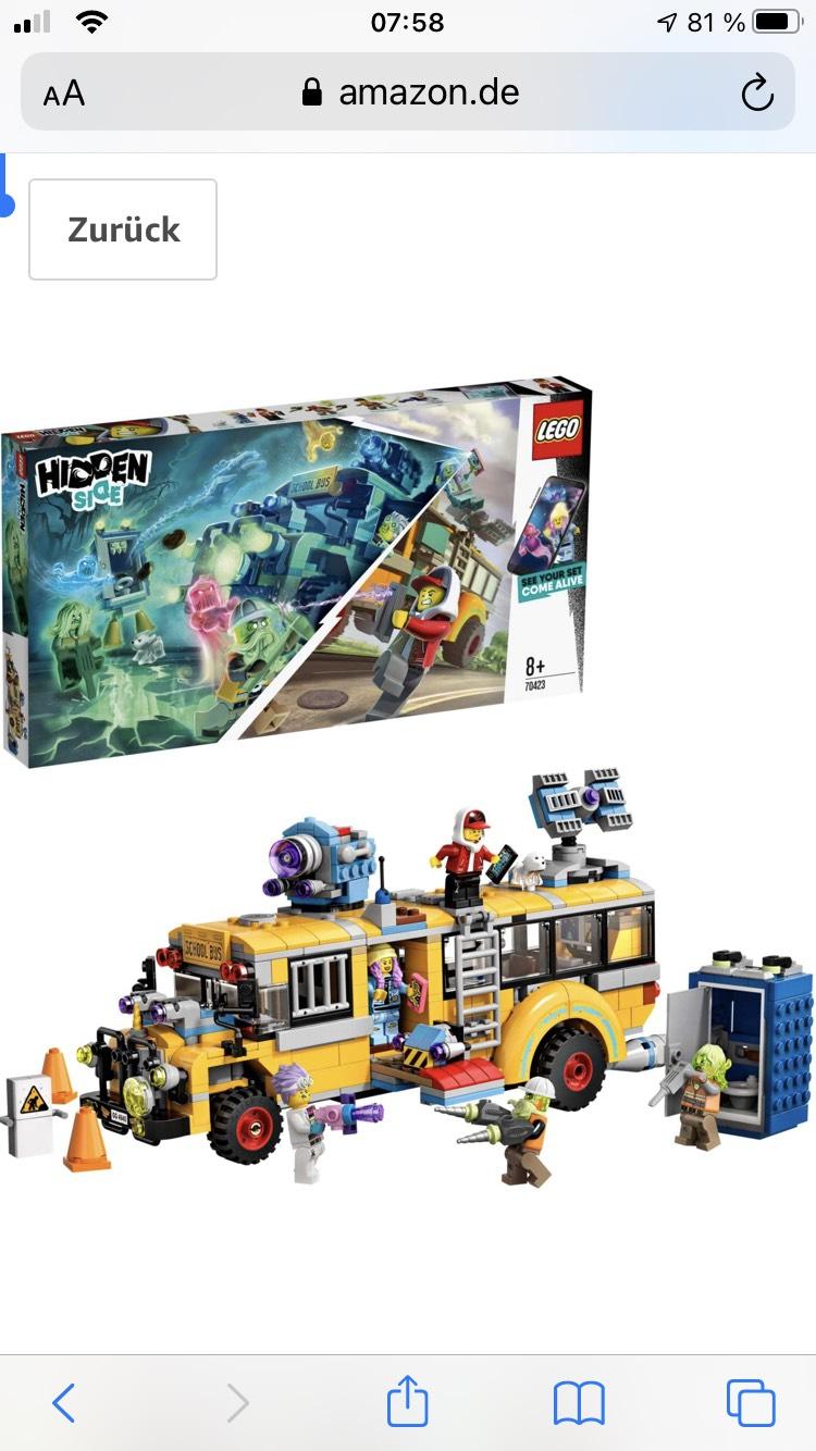 LEGO 70423 Hidden Side Spezialbus Geisterschreck 3000