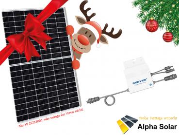 [Lokal diverse Orte] Weihnachtsangebote bei Alpha-Solar, zB Balkonkraftwerk 325W