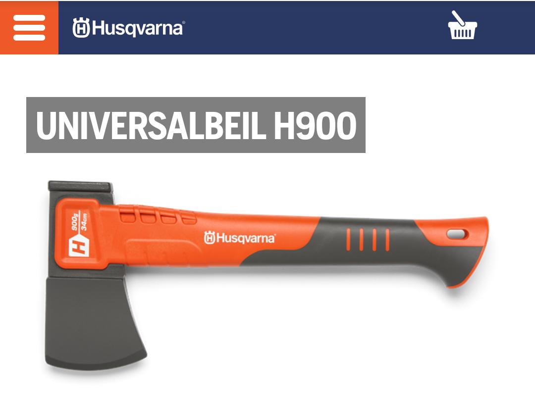 Husqvarna Universalbeil H900