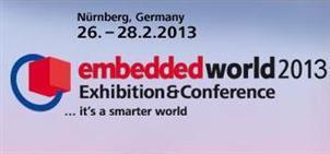 Kostenlose Tageskarte für embedded world 26. - 28.2.2013 in Nürnberg