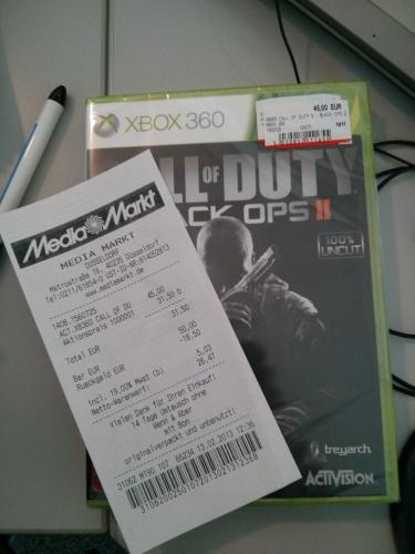 [Lokal?] Call of Duty Black Ops 2 beim Media Markt Düsseldorf