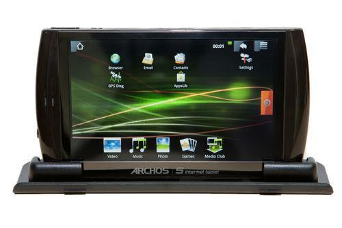 Tablet: Archos 5 32GB, Wi-Fi, 12,2 cm für nur 42,80 EUR inkl. Versand! [gebraucht / deutscher Händler)