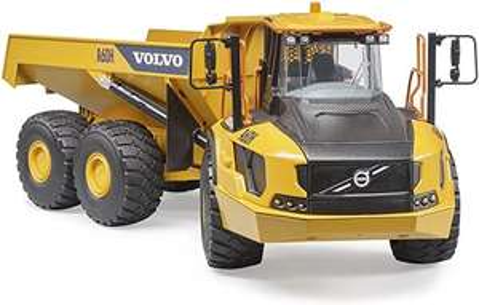 Bruder Volvo Dumper A60H 1:16 Kinder Spielzeug @amazon