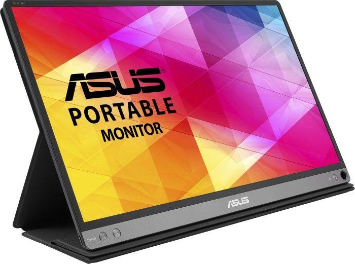 "Asus ZenScreen MB16AC - 15,6"" tragbarer USB-C Monitor inkl. Smart-Case(Full HD, IPS, 60 Hz, DisplayPort, Blaulichtfilter)"