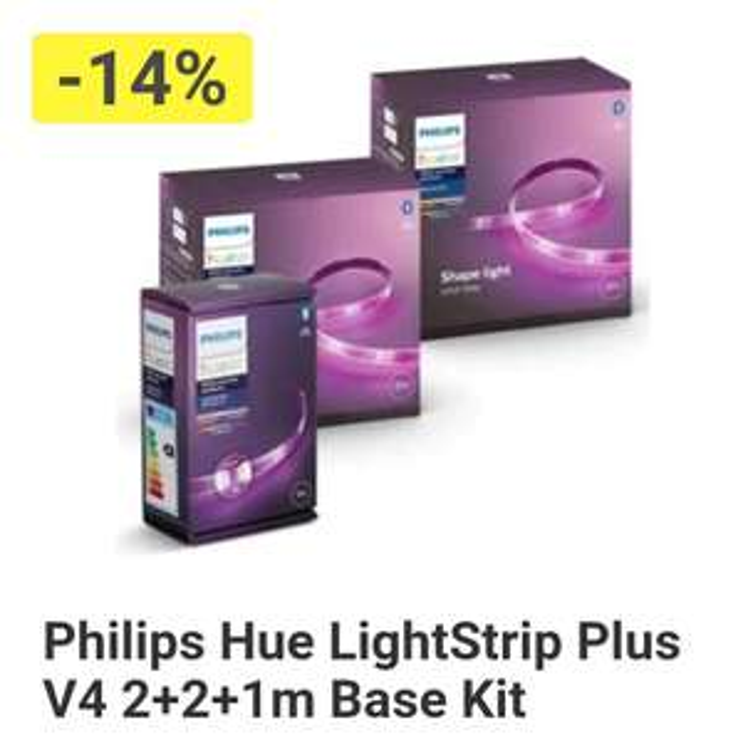 Philips Hue Lightstrip V4 BT 2+2+1