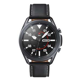 Samsung Galaxy Watch 3 45MM Bluetooth Mystic Black + Galaxy Buds+ als Zugabe