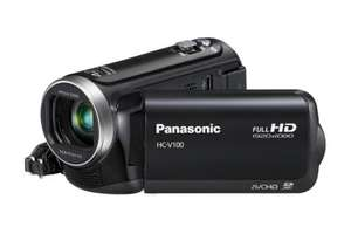 Panasonic HC-V100 Full HD Camcorder für ~155 € @Amazon.co.uk