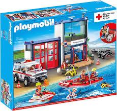 LOKAL Galeria Stuttgart.Königstr. Playmobil DRK Rettungswache Mega Set