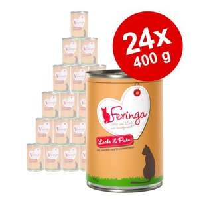 Zooplus Feringa Katzenfutter, 5€ Rabatt oder gratis Zugabe