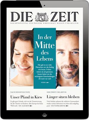 DIE ZEIT Digital 4 Wochen für 1€ testen