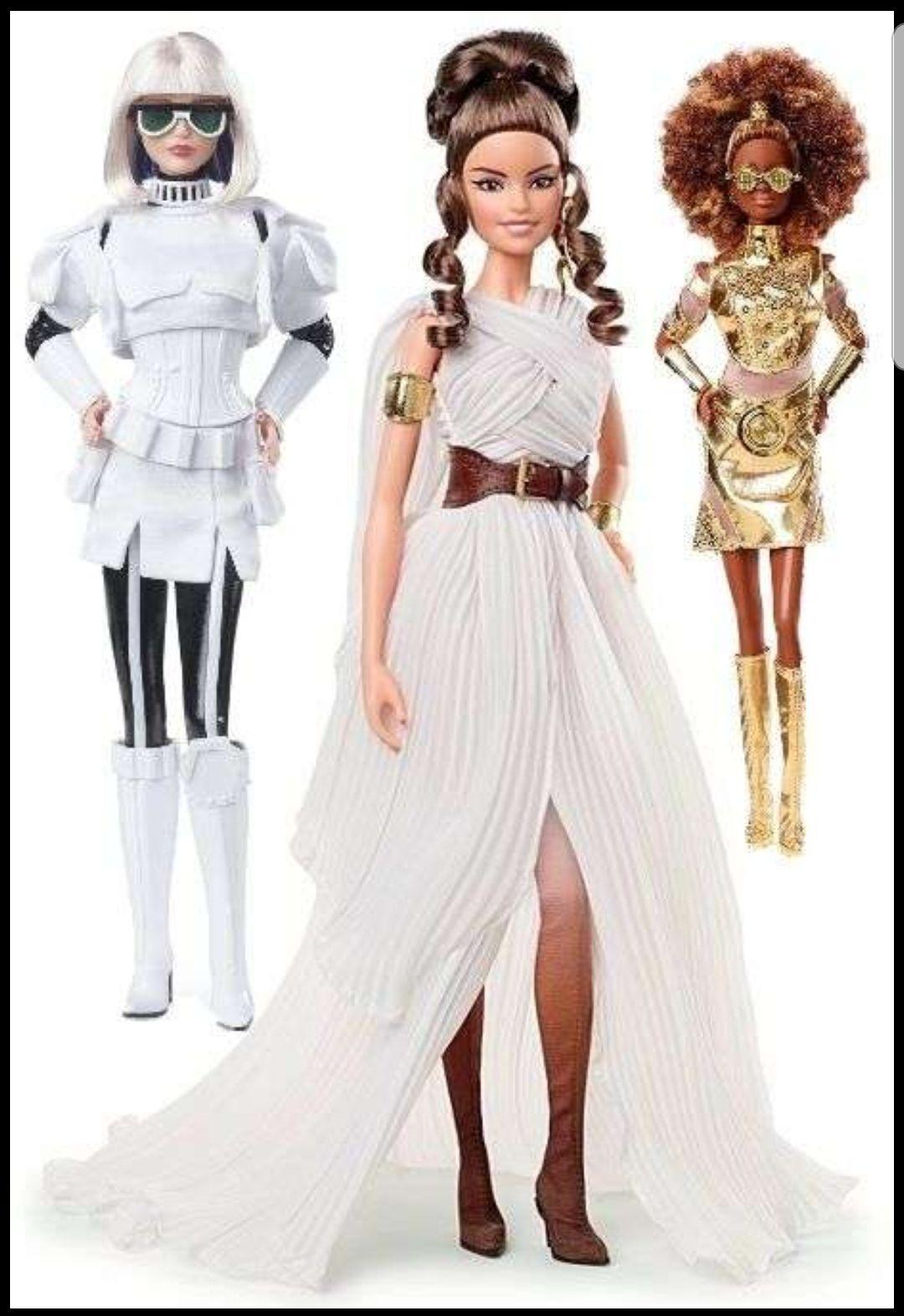 Sammeldeal Barbie Signatur Star Wars Puppen, z.B. C-3PO , Amazon