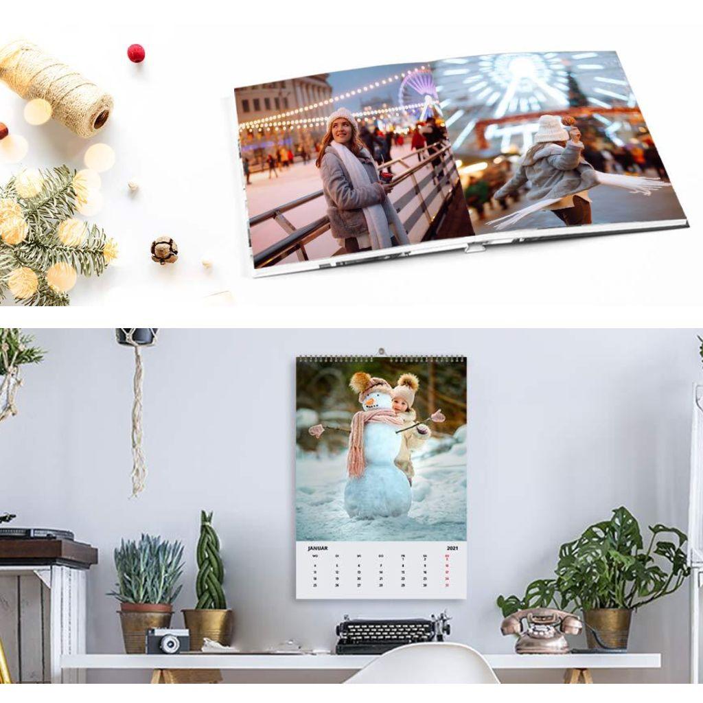 [Lidl-Fotos] 2 Deals mit Premium Echtfotopapier: Kalender A4 10,65€ // Layflat Fotobuch A4 Hardcover 26 Seiten 19,65€