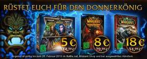 World of Warcraft bis zu 70% reduziert