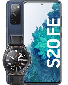[Shoop O2 Neukunden] Samsung Galaxy S20 FE + Watch 3 45mm LTE im Free L Boost (120GB 5G, Connect) | Ank. 13,92€ mtl.