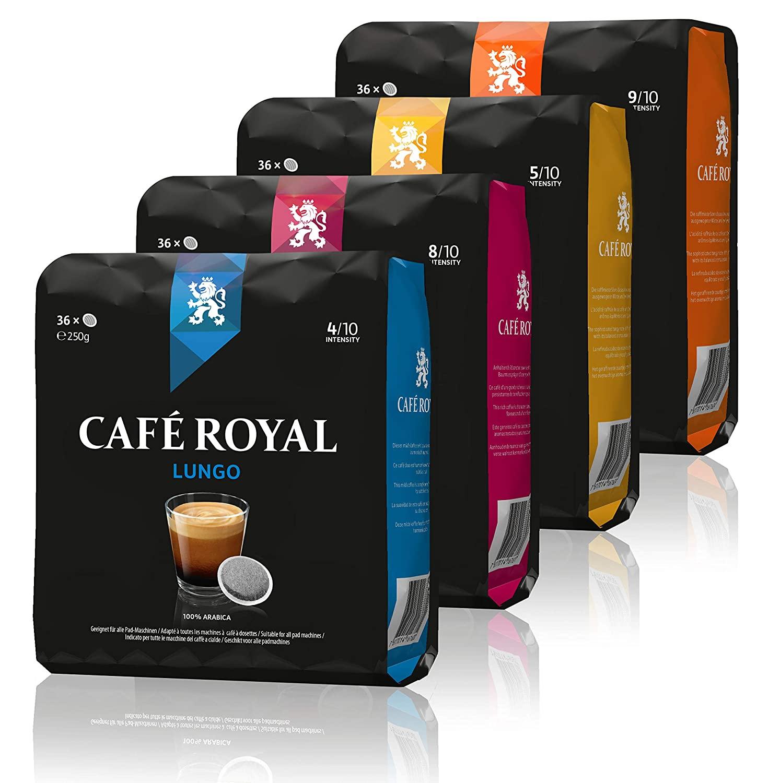[Amazon] Café Royal 360 kompatible Kaffeepads für Senseo 10 x 36er Packung
