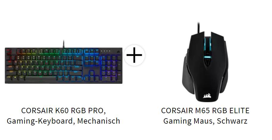 Corsair K60 RGB + M65 Elite
