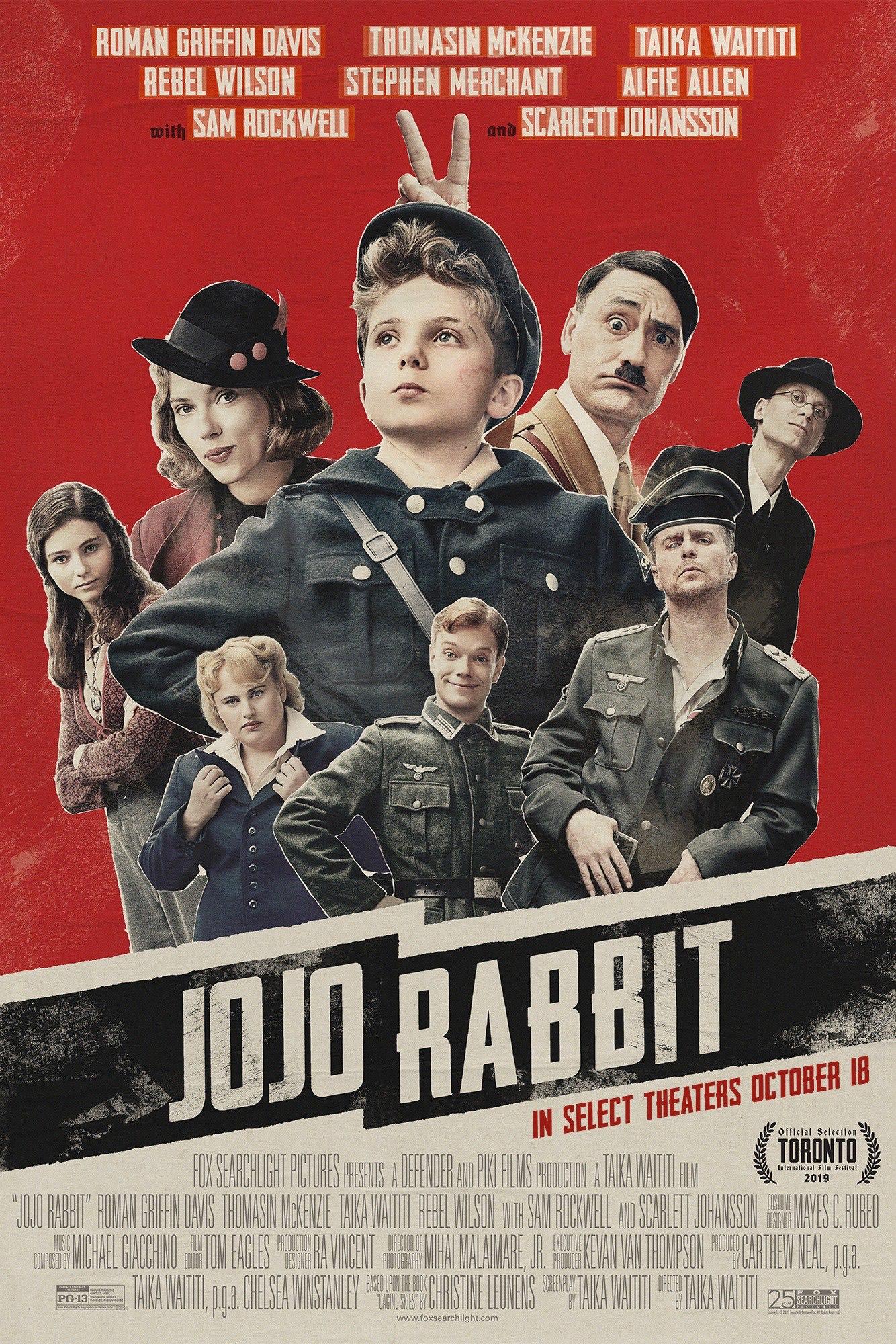 Jojo Rabbit für 3,89€/4,99€ HD/4K [Amazon]/[iTunes]
