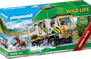 [Prime] PLAYMOBIL Wild Life 70278 Expeditionstruck, Ab 4 Jahren
