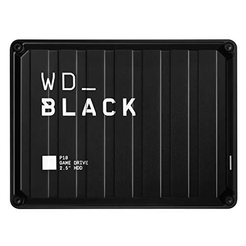 4TB WD_Black P10 Game Drive externe HDD (Mobile Festplatte für Konsole & PC) [ WDBA3A0040BBK-WESN ]