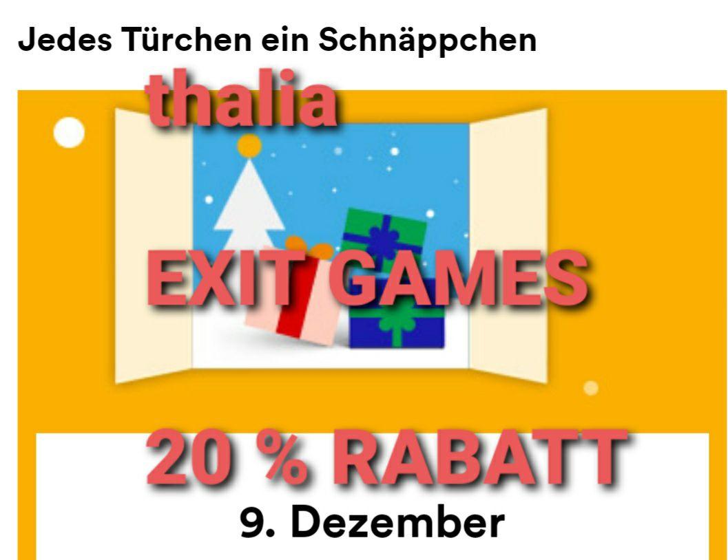 [thalia] Ausgewählte EXIT-GAMES 20%-Rabatt