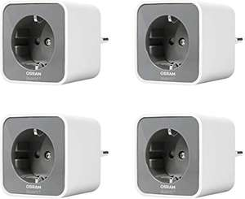 [Amazon Prime] OSRAM Smart+ Plug Steckdose 4er Set ( ZigBee schaltbare Steckdose, für die Lichtsteuerung in Ihrem Smart Home )