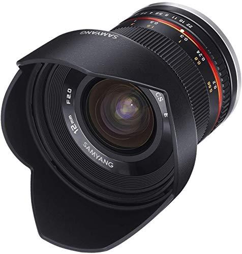 [Amazon.it] Samyang 12mm f/2.0 Weitwinkel-Objektiv für Sony Alpha E-Mount APS-C A6000 und NEX Reihe