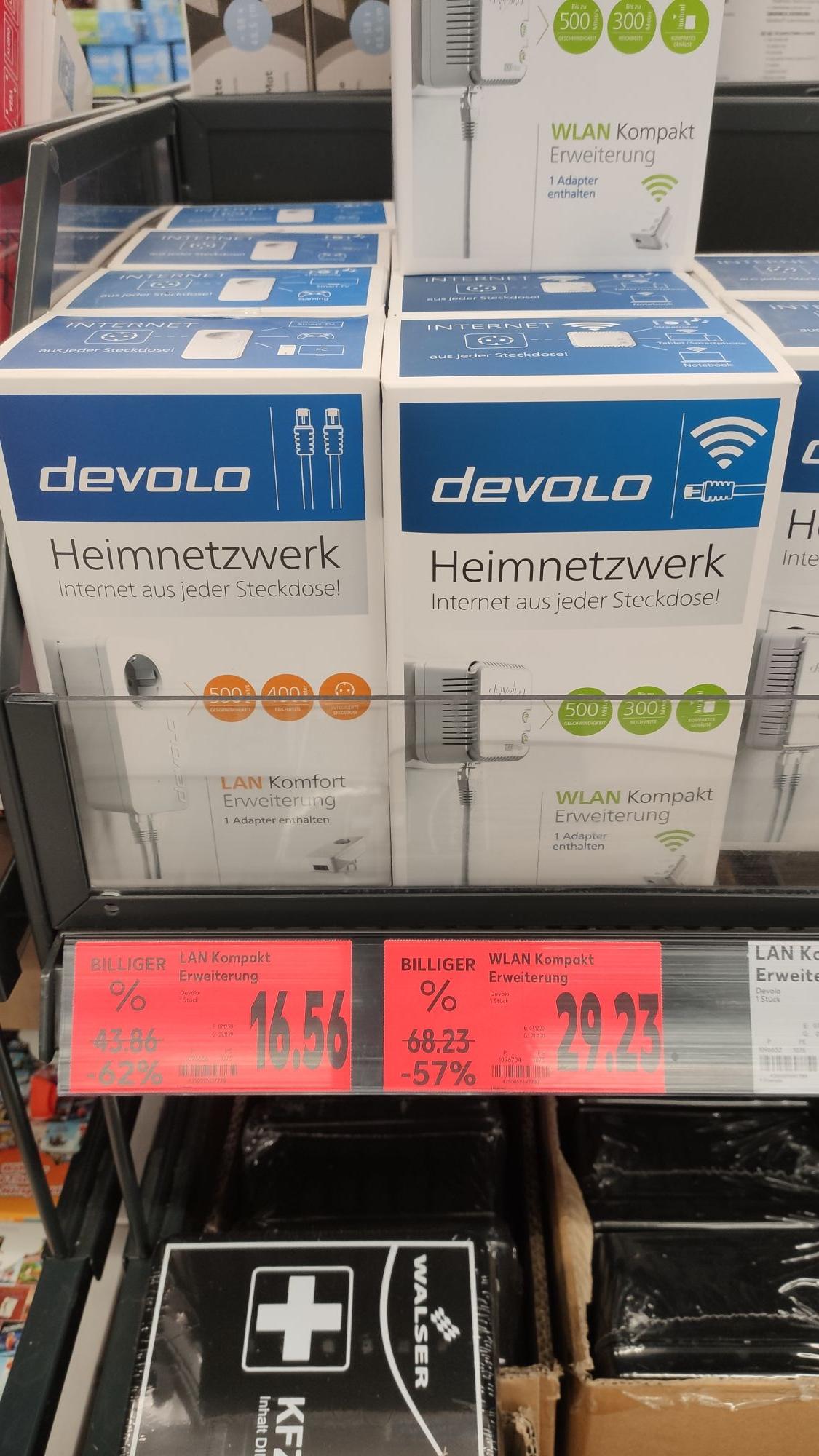 [Kaufland Weiterstadt] Devolo Produkte weit unterm Tiefstpreis, DVD 10er Spindel für 0,50€ uvm.