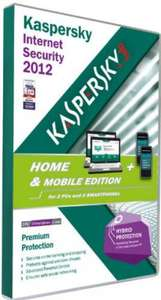 Kaspersky Home and Mobile 2012: 2 user / 11,60€ bei thehut / zavvi