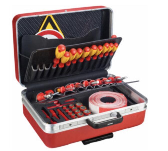 Hazet 150/43 VDE-Werkzeugkoffer (mit Rollkoffer)