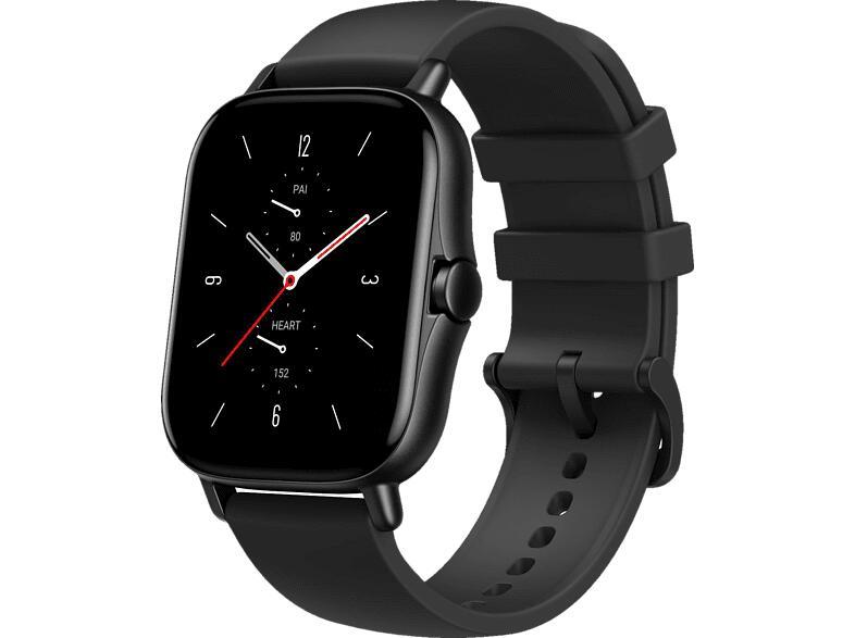 Amazfit GTS 2 Smartwatch schwarz, grau und gold (Vorbestellung)