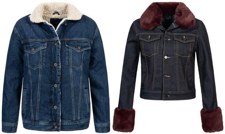 Pepe Jeans Damen Sherpa-Jeansjacke für je 33,99€ + 3,95€ VSK [SportSpar]