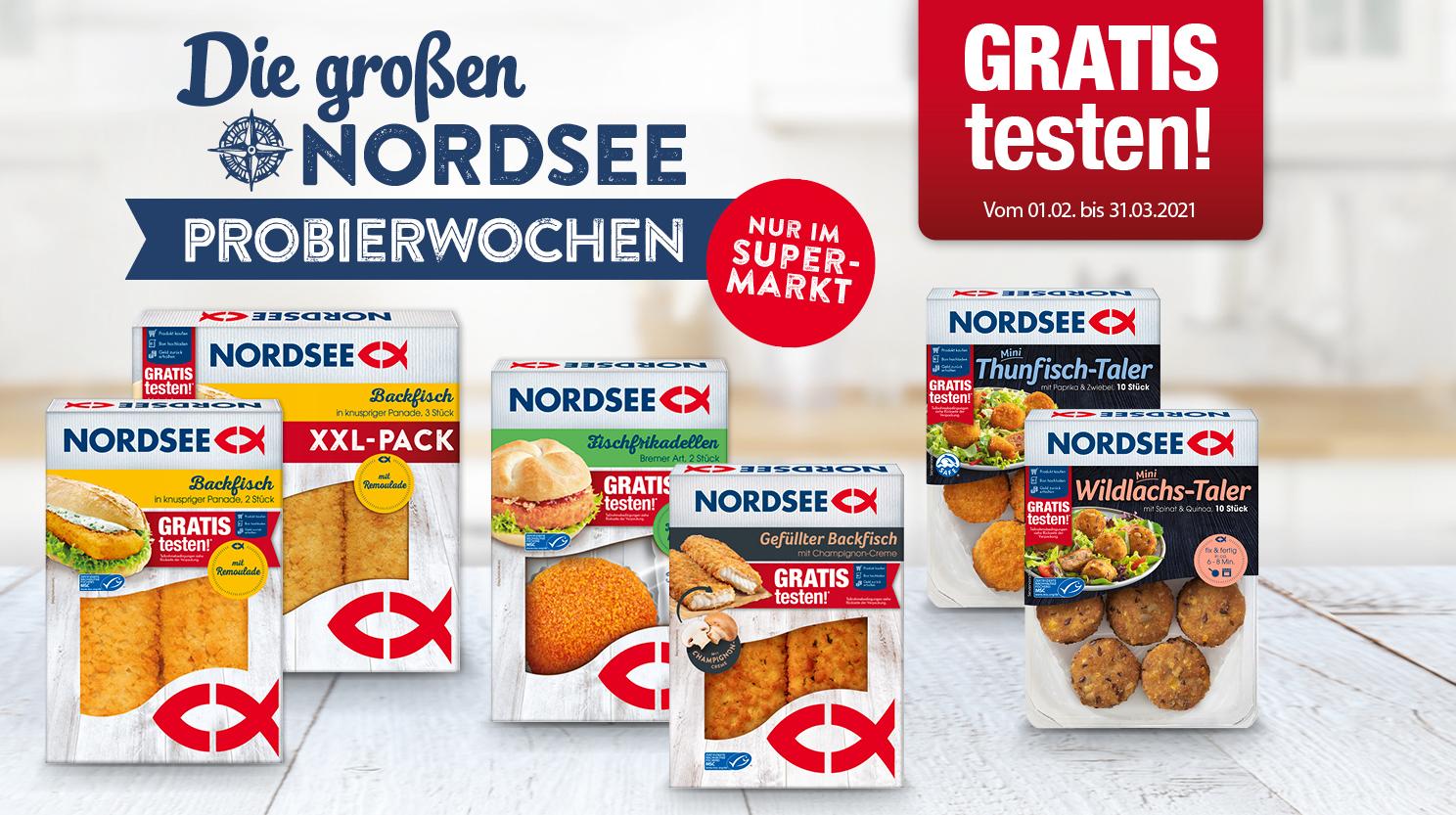 [GzG] Nordsee Probierwochen 2021 - ab 01.02.2021 gratis testen!