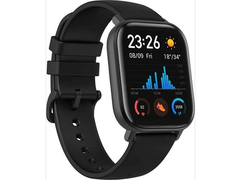 (online @mediamarkt / saturn) AMAZFIT GTS Smartwatch 14 Tage Akku ver. Farben - auf ebay in schwarz für 80,10€ siehe Beschreibung