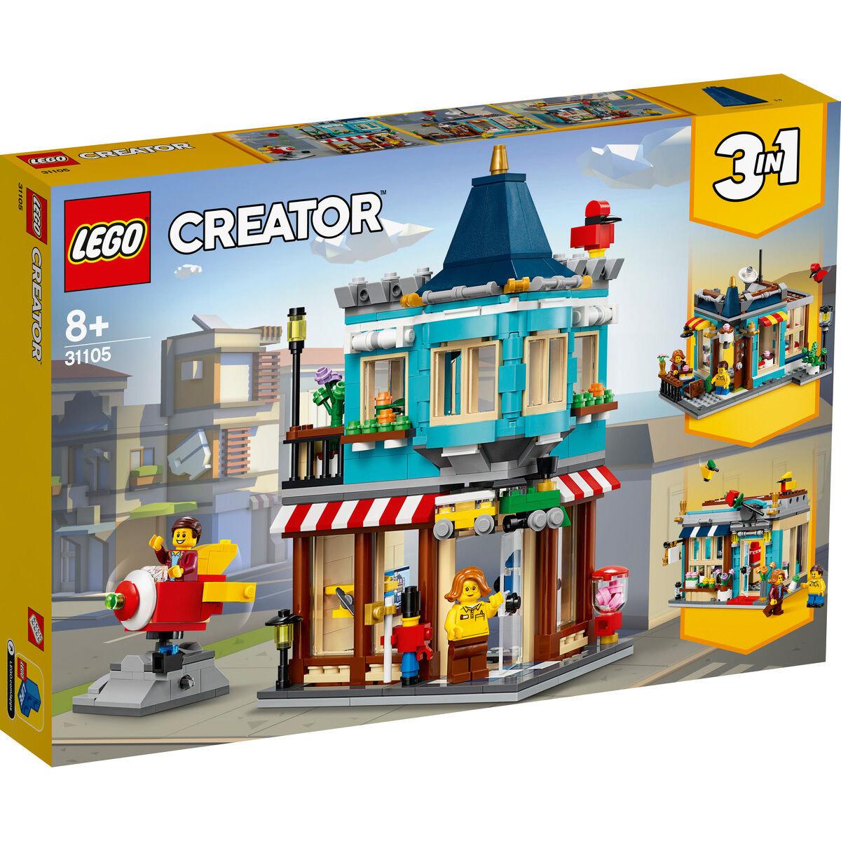 Lego Creator 3in1 Spielzeugladen 31105 oder Burger-Monster-Truck 31104