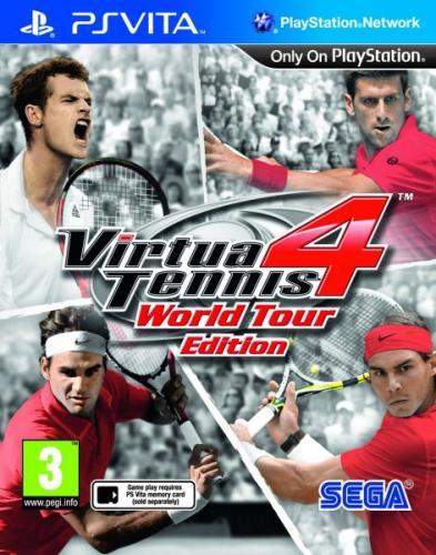 Virtua Tennis 4 für PS Vita @ TheHut für 9,32€