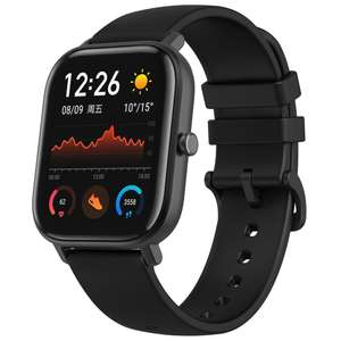 """Amazfit GTS Smartwatch (Aluminium-Gehäuse, Bluetooth 5.0, 1.65"""" Amoled-Display)"""
