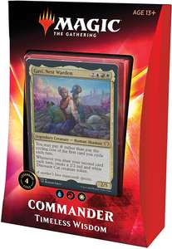 (Amazon.uk) Magic: The Gathering Timeless Wisdom Commander Deck MTG